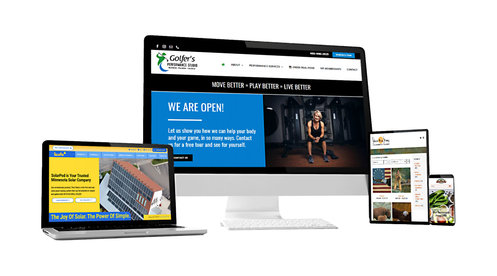 custom website design and digital marketing