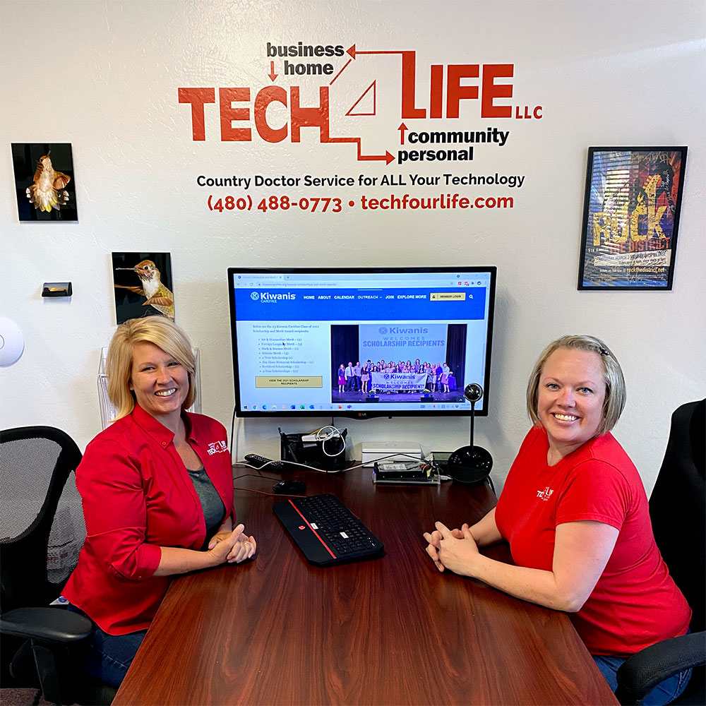 Tech 4 Life Ladies: Jen Miles, Marketing and Carly Reuter, Website Design